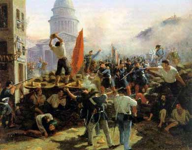 Les événements de 1848